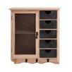 Woodland Imports Amazing Sturdy Storage Unit