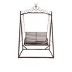Woodland Imports The Cool Metal Garden Porch Swing