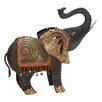 Woodland Imports Fantastic Metal Elephant Figurine