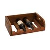 Woodland Imports Grand and Polished 4 Bottle Tabletop Wine Rack