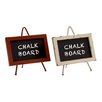 Woodland Imports Supremely Cool Free-Standing Chalkboard (Set of 2)