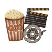 Woodland Imports Metal Movie Wall Décor