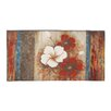 Woodland Imports Astounding Floral Painting Print on Wrapped Canvas