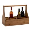 Woodland Imports Unique Styled Attractive 8 Bottle Tabletop Wine Rack