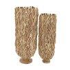 Woodland Imports 2 Piece Classy Driftwood Flower Vase Set