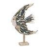 Woodland Imports Creatively Designed Driftwood Fish Statue