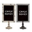 Woodland Imports Free-Standing Chalkboard (Set of 2)