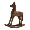Woodland Imports Next Best Wood Small Rocking Horse Figurine