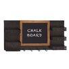Woodland Imports Fantastic Hook Wall Mounted ChalkBoard, 2' x 3'