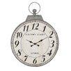 "Woodland Imports Oversized 28"" Antique Wall Clock"