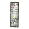 Woodland Imports Plaque Style Wood Mirror Wall Decor