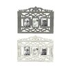 Woodland Imports Antique Themed Wall Picture Frame (Set of 2)