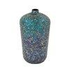 Woodland Imports Metal Mosaic Vase