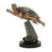 Woodland Imports Elegantly Designed Turtle Statue