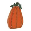 Woodland Imports Simple Pumpkin Halloween Statue
