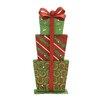 Woodland Imports Stunning LED Gift Box Wall Decor