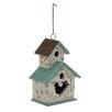 Woodland Imports Adorable Cottage Hanging Birdhouse