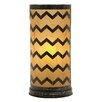 """Woodland Imports Gorgeous 17"""" Table Lamp with Drum Shade"""
