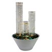 Woodland Imports Water Bubble Table Top Column Fountain