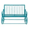 Woodland Imports Comfortable Metal Garden Bench