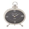 Woodland Imports Oval Table Clock