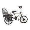 Woodland Imports Rickshaw Cycle Sculpture