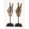 Woodland Imports Victory Hand Sculpture