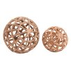 Woodland Imports 2 Piece Decorative Ball Set