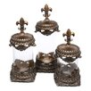 Woodland Imports 3-Piece Decorative Jar Set