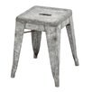"Woodland Imports Classic 17"" Bar Stool"