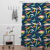 DENY Designs Heather Dutton Swizzlestick Party Shower Curtain