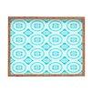 DENY Designs Elisabeth Fredriksson Crystal Flowers Rectangle Tray