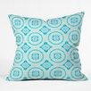 DENY Designs Elisabeth Fredriksson Crystal Flowers Throw Pillow
