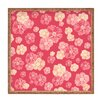 DENY Designs Lisa Argyropoulos Blossoms On Coral Square Tray