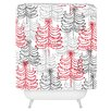 DENY Designs Rachael Taylor Doodle Trees Shower Curtain