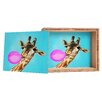 DENY Designs Coco de Paris Giraffe Blowing Bubblegum Storage Box