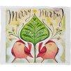 DENY Designs Cori Dantini Merry Merry Fleece Polyester Throw Blanket
