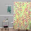 DENY Designs Joy Laforme Wind Swept Floral Shower Curtain