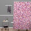DENY Designs Garima Dhawa Dots Berry Shower Curtain