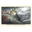 Buyenlarge 'All Night Hunt with Sir Thomas Mostyn' by Henry Thomas Alken Painting Print
