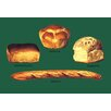Buyenlarge New England, Cottage, Domestic, and French Breads Painting Print