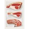 Buyenlarge Beef: Porterhouse and Chuck Painting Print