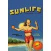 Buyenlarge Sunlife Brand Vintage Advertisement