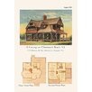 Buyenlarge 'A Cottage at Monmouth Beach, New Jersey' Graphic Art