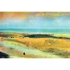 Buyenlarge 'Beach at Low Tide' by Edward Degas Painting Print