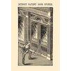 Buyenlarge 'Detroit Patent Door Opener' Painting Print