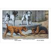 Buyenlarge Fox Terrier by Louis Agassil Fuertes Painting Print