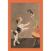 Buyenlarge A Playful Wire-Haired Terrier by Diana Thorne Painting Print