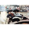 Buyenlarge 'The Thames' by James Tissot Painting Print