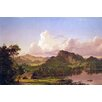 Buyenlarge 'At Home on the Lake' by Frederic Edwin Church Graphic Art